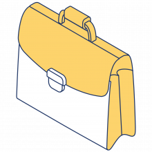Yellow Briefcase icon